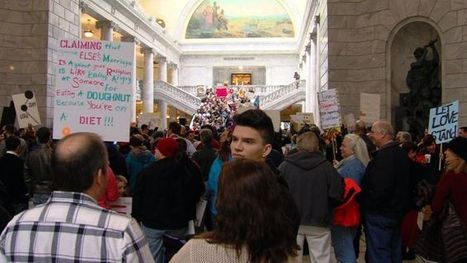 LGBT community protests at Capitol with 44K signature petition - ksl.com | It has to get better | Scoop.it