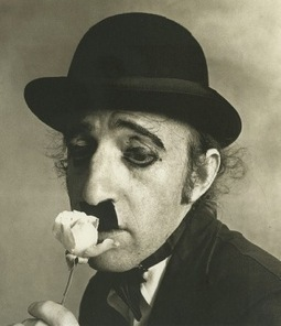 Woody Allen as Charlie Chaplin (by Irving Penn,1972) | Photography Now | Scoop.it