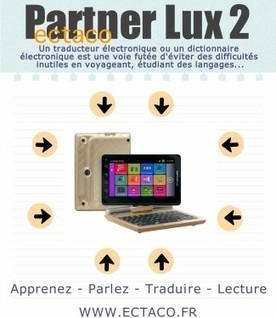 Anglais-Français Communicateur Lux 2 - Traducteurs électroniques ECTACO | Traductor electrónico ECTACO Spain | Scoop.it