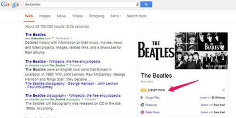 """Avec """"Listen Now"""", Google vise la publicité pour la musique en ligne - BFMTV.COM   Community Management et Curation   Scoop.it"""