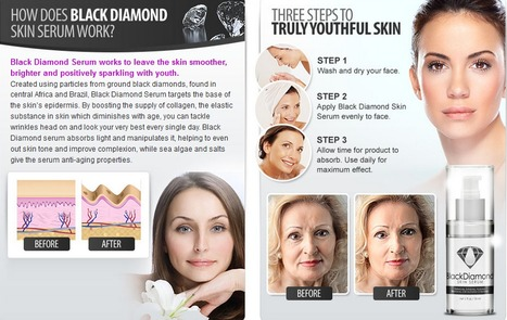 Black Diamond Skin Serum Review – Free Trial Pack Now! | Helps reduce formation of wrinkles and fine lines | Scoop.it