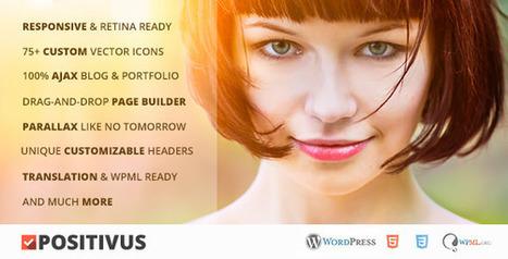 Positivus v1.1.3 Multipurpose AJAX Blog/Portfolio Theme | Download Free Full Scripts | livejournal.com | Scoop.it