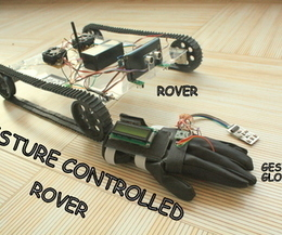 GESTURE controlled Arduino based Rover ( Wireless + Line Following )   Open Source Hardware News   Scoop.it