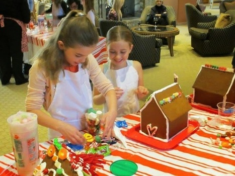 The Farms Golf Club Had a Memorable Gingerbread House Building Party | All About Country Club San Diego | Scoop.it