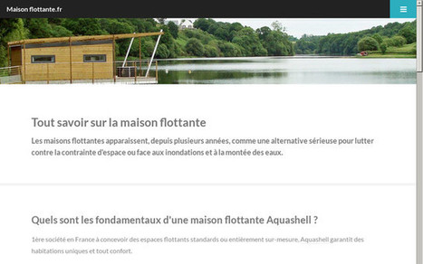 Le guide de la maison flottante | Hébergements insolites | Scoop.it