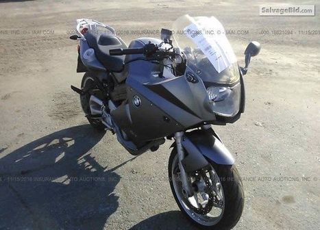 2007 BMW F800 on online auction  | Salvage Auto Auction | Scoop.it