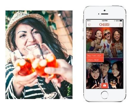 Cheers, l'appli pour trinquer avec des inconnus - Tendances digitales | Les dernières innovations digitales | Scoop.it