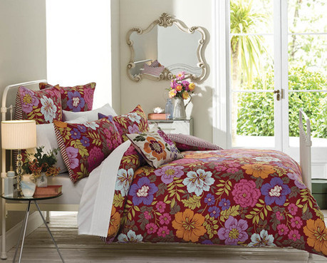 cottonbox - bed linen :: Quilt Cover Sets, kids bed linen, Duvet Cover Sets, Buy bed linen, quilt sets, comforter, bed linen Australia - Camille Quilt Cover Set by Sanderson | Bed Linen | Scoop.it