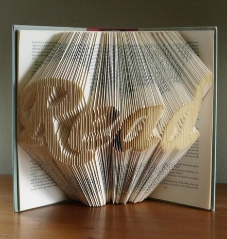 Boeken vouwen als een pro | Strange days indeed... | Scoop.it