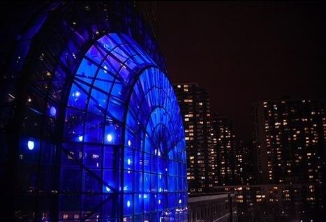 The Aurora Borealis Lights Up NYC - PSFK   Lighting Ideas   Scoop.it