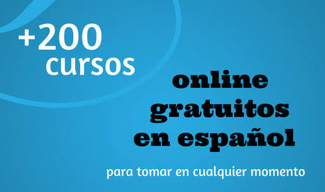 Cursos gratuitos en español | MediosSociales | Scoop.it