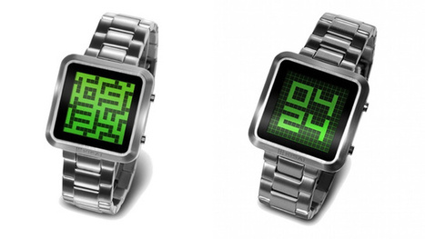 The Latest Tokyo Flash Watch Hides the Time in a Maze | All Geeks | Scoop.it