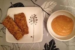 Vegan Zucchini Fritters with Creamy Cashew Marinara | My Vegan recipes | Scoop.it