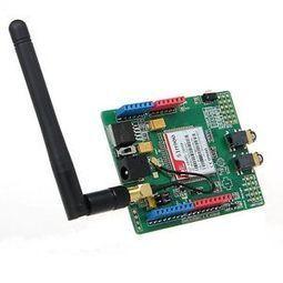 Geeetech SIM900 GSM GPRS Shield development board Quad-band wireless for Arduino | Raspberry Pi | Scoop.it