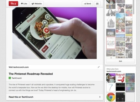 Pinterest Announces Rich Pins for Articles | Arts Management and Technology | Scoop.it