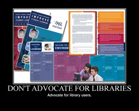 4 Rules of Library Advocacy - Home - Doug Johnson's Blue Skunk ... | Librarian's matter too! | Scoop.it
