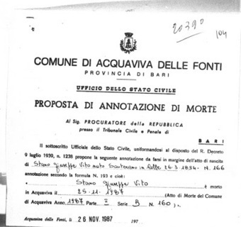 Annotations in the Margins of Italian Civil Birth Records | Généal'italie | Scoop.it