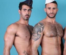 Eye Candy! These Hirsute Hunks Beckon You To Paris - TheBacklot | Hunks (Adult Content, NSFW) | Scoop.it