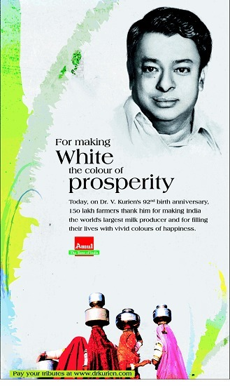 Dr. Verghese Kurien - The Father of White Revolution | Dudhsagar Dairy Mehsana - India's Largest Co-operative Dairy | Scoop.it