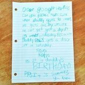 Little Girl Writes Letter to Google to Get a Day Off for Her Dad, and This Is ... - E! Online | Digital-News on Scoop.it today | Scoop.it