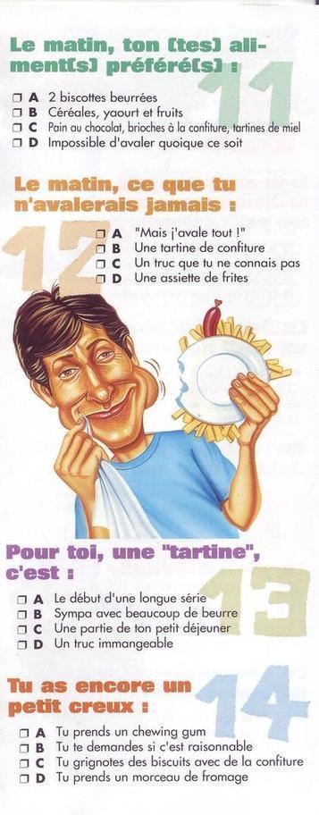Ton petit déjeuner | le français: ma passion | Scoop.it