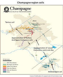 Wine -- Mise en abyme: The soils of the Champagne wine region | Côte des Bar champagne | Scoop.it