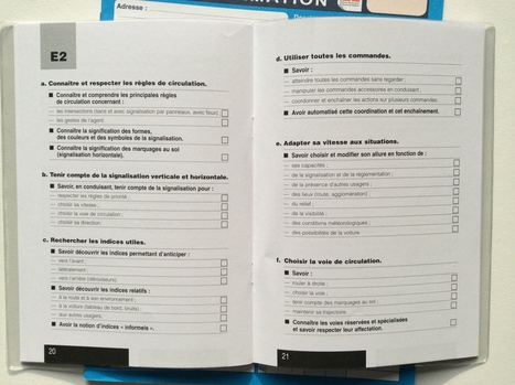 Un livret d'apprentissage pour s'adapter et progresser sans notes | Les outils d'HG Sempai | Scoop.it