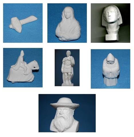 Des gommes 3D, l'histoire dans la trousse ! | L'actu culturelle | Scoop.it