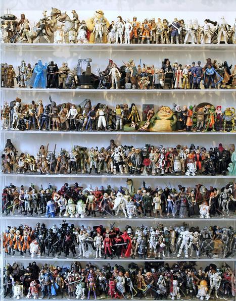 Les 1.950 figurines Star Wars pour 4000€ sur ebay | Blonde Sans Filtre, c'est tout moi | Scoop.it