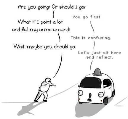 6 things I learned from riding in a Google Self-Driving Car - The Oatmeal | The Future of Autonomous Driving | Scoop.it