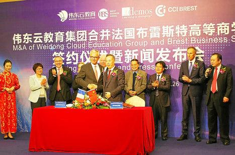 Brest Business School scelle son destin avec les Chinois | Actualité des grandes écoles et de l'enseignement supérieur | Scoop.it