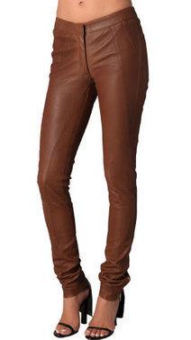 Buy skin fit formal womens leather pant online | Leatherfads | Scoop.it