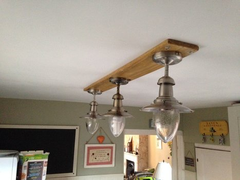 How I Made This Light Fitting for My Kitchen   1001 Pallets ideas !   Scoop.it