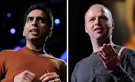In conversation: Sebastian Thrun and Salman Khan talk online education | TED Blog | DiHE- Digitalisation in Higher Education | Scoop.it