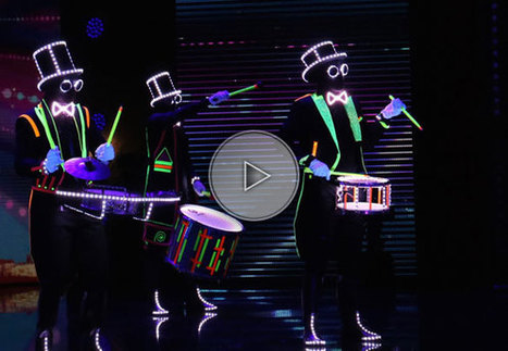 Glow in the dark drums | Musicians | Singers & Musicians | Others | Performers | Walk around acts | Others | Performers | Entertainment Agency | Corporate Event Entertainment | Spectacles, Spectacles Vivants et Animations | Scoop.it