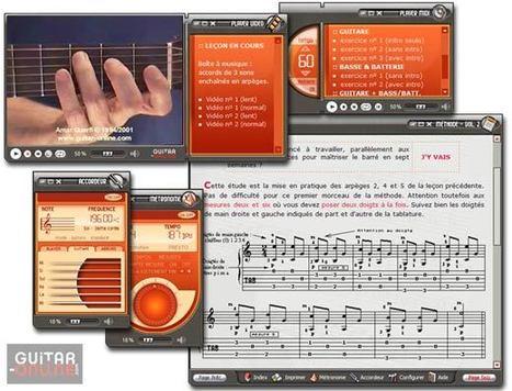 Méthodes de Guitare + Vidéo sur CD-ROM - Volume II | Apprendre la guitare et la musique avec des logiciels éducatifs | Scoop.it