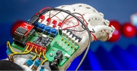 Haptic glove joins the race to make augmented reality tactile | AR - QR | Scoop.it