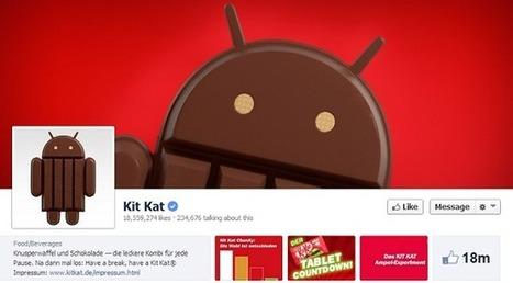 KitKat est installé sur 1.1 des appareils sous Android | Veille digitale | Scoop.it