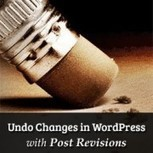 How to Undo Changes in WordPress with Post Revisions | Build your fashion | Scoop.it