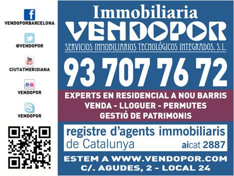 Propiedades Viviendas en Venta en Barcelona   VENDOPOR   Scoop.it