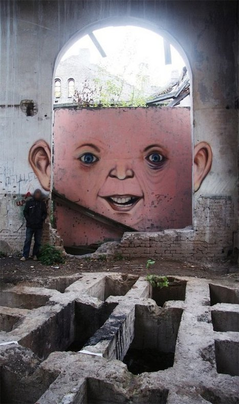 Street Art: 111 Most Interesting Photos of 2011 | Photography & Design & Inspiration | Xposed | Scoop.it