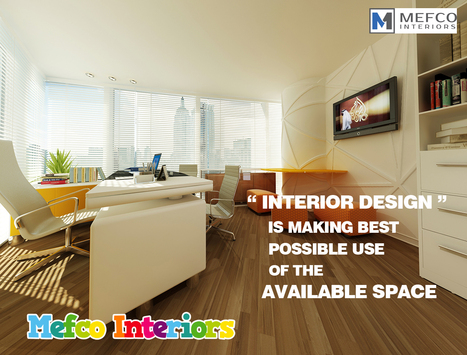 Interior Design At Mefco Interiors | Interior Design | Scoop.it