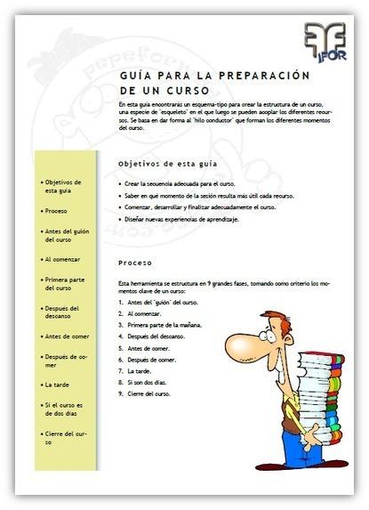 Guía para la preparación de un curso | Recursoteca | Scoop.it