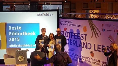 Ook mooi! Op een na beste bibliothecaris van Nederland | trends in bibliotheken | Scoop.it