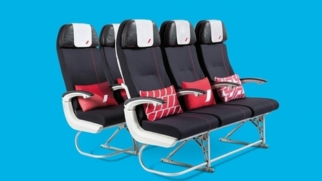 Air France's New-Look Cabins Now Serving Los Angeles, Washington, DC | Aerospace industry watch - Paris Air Show | Scoop.it