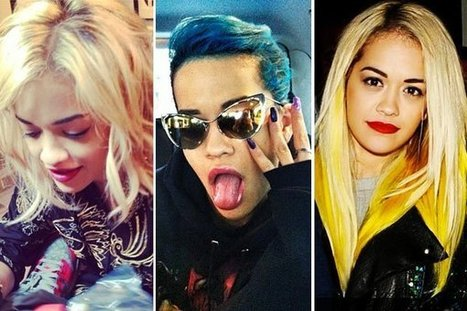 Rita Ora's Hair Makeover — Love Or Loathe Her Frequent Dye Jobs? | Beautiful Women - Celebrity News - Pop Music | Scoop.it