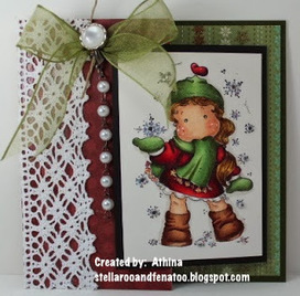 Stella, Roo and Fena Too Designs: Snowfall! Loves Rubberstamps Blog Hop | P.S. I Love You Paper Arts and Crafts | Scoop.it