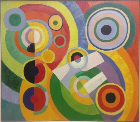 A ROBERT DELAUNAY PAINTING IN THE CENTRE POMPIDOU | Art Painting Paris | art | Scoop.it