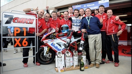 Superbike - PERFECT WEEKEND FOR CHECA AND THE ALTHEA RACING TEAM AT MILLER WITH A DOUBLE WIN AND TWO FAST LAPS | Ducati & Italian Bikes | Scoop.it