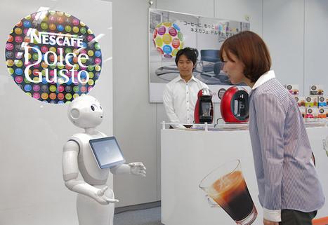Les robots peuvent-ils ré-enchanter l'expérience d'achat en magasin ?   Médias   Scoop.it